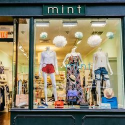 """<b>↑</b> <b><a href=""""http://www.shopmint.com/"""">Mint</a></b> (448 Columbus Avenue) represents a contemporary price point, and the selection includes denim from <b>J Brand</b> and <b>Citizens of Humanity</b>, dresses from <b>Alice + Olivia</b> and <b>Yumi K"""