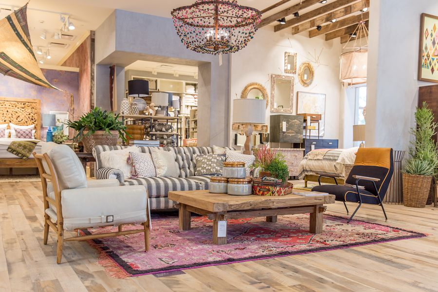 Anthropologies Upgraded Newport Beach Store Offers Major Home Decor