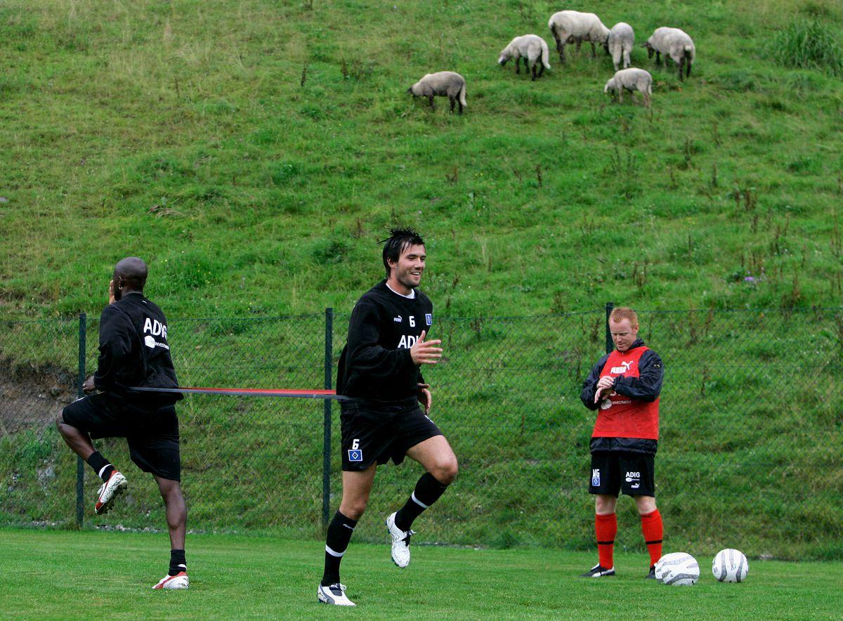 Training Session Hamburger SV