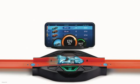 Hot Wheels goes digital with smart tracks and NFC cars, exclusively