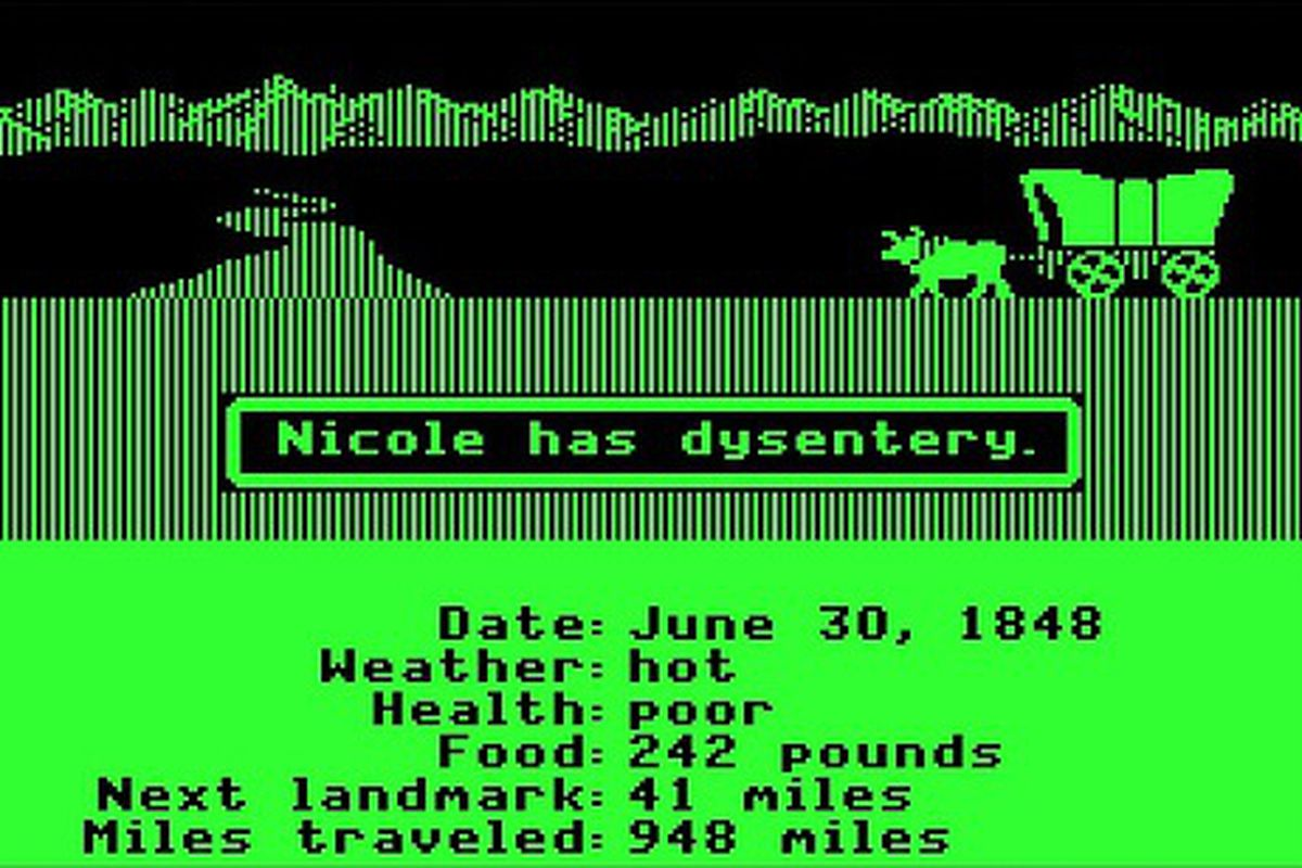 real life game seeks to rediscover the oregon trail polygon