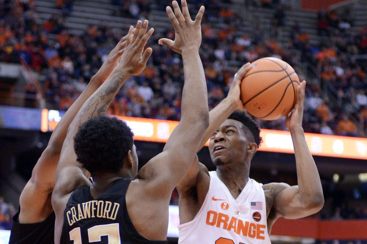 NCAA Basketball: Wake Forest at Syracuse