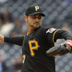 Chase De Jong, Pirates starting pitcher on Saturday