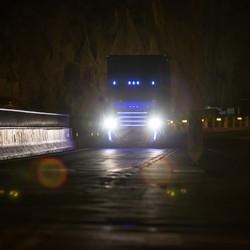 Photos of the Inspiration Truck from the Hoover Dam unveiling