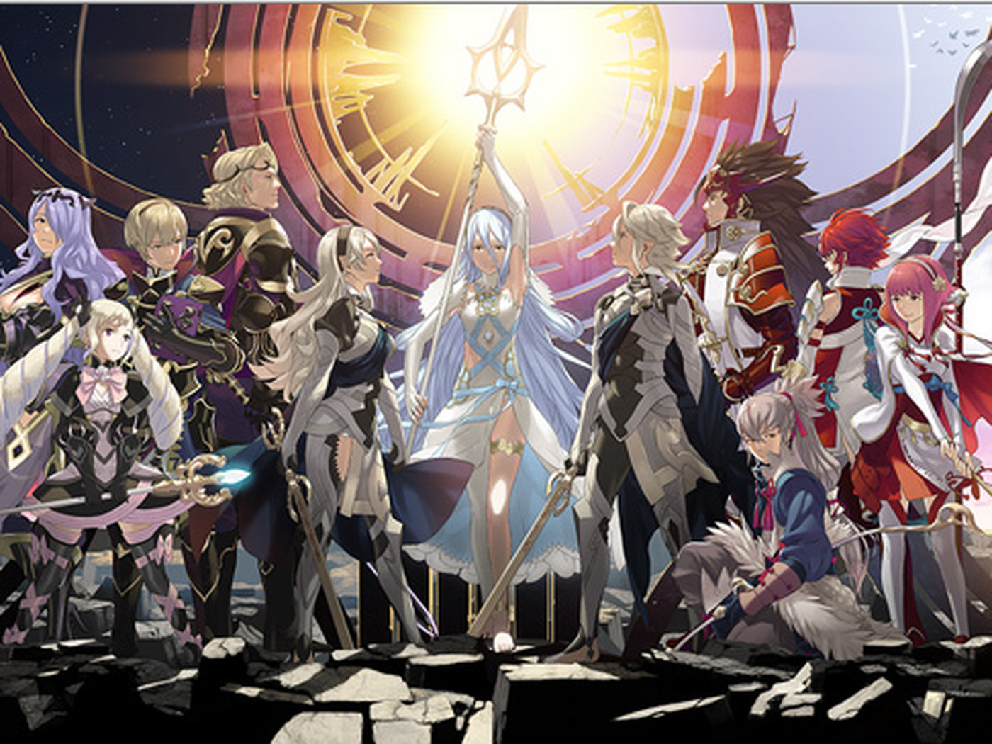 Fire Emblem Fates Won T Have Japanese Voice Option In Western