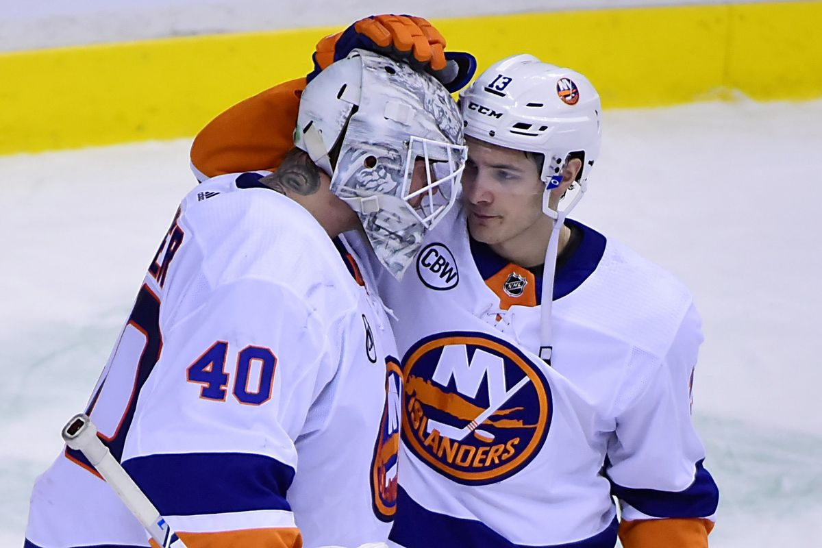 The hometown boy thanks the big man for another shutout. Anne-Marie  Sorvin-USA TODAY Sports 2c0f82234
