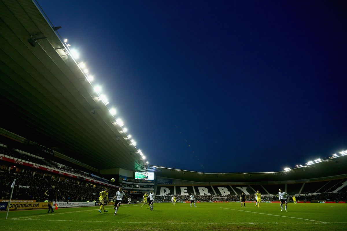Pride Park awaits Leeds United and their travelling army this weekend.