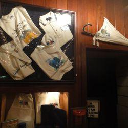 Umbrellas! T-shirts!