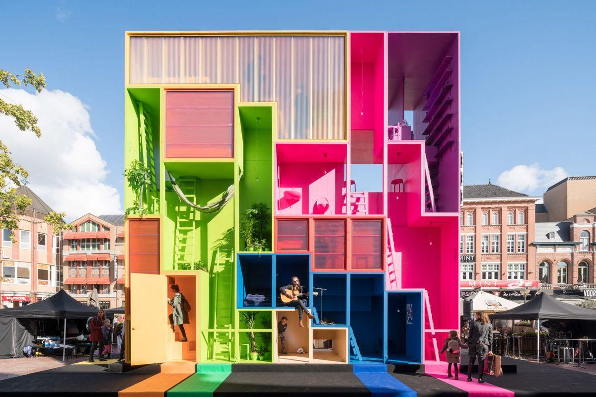 reconfigurable hotel concept