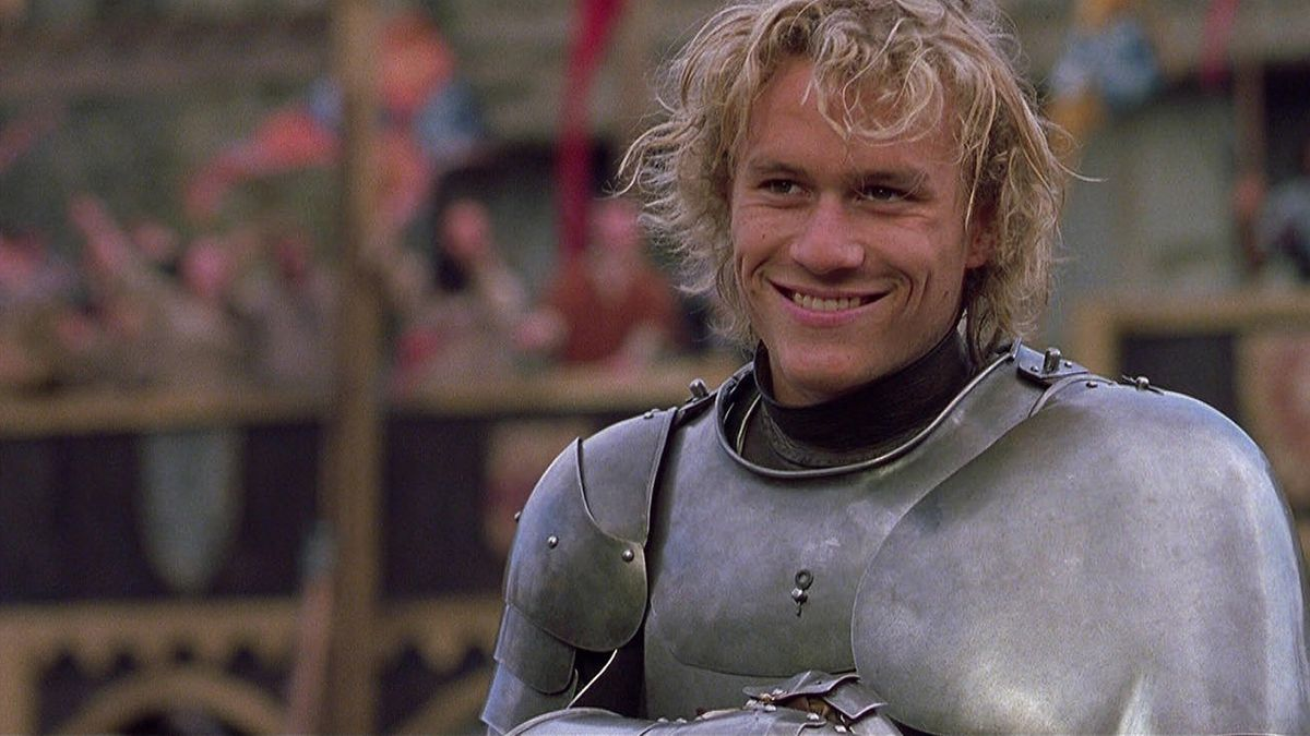 heath ledger in a knight's tale