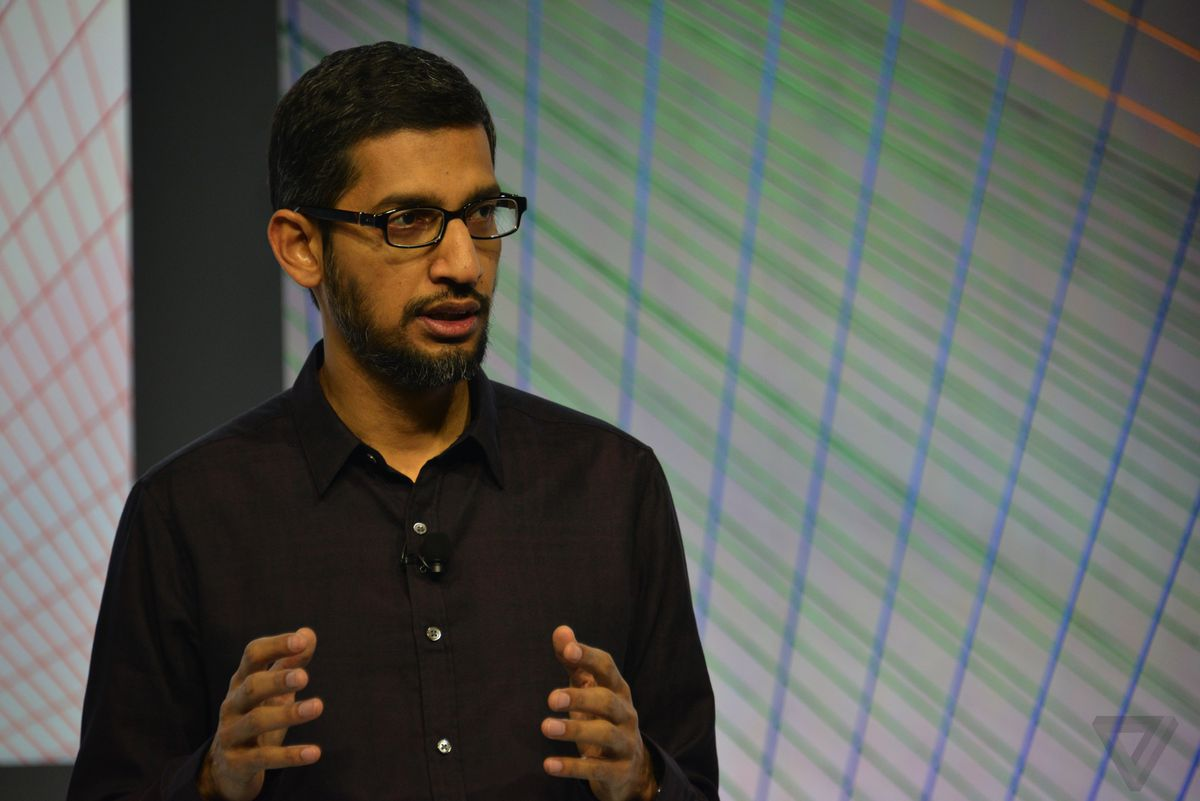 Sundar Pichai Stock Google Oct 2015 CEO