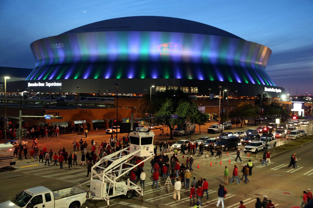 The Superdome is the site for some Indian Payback