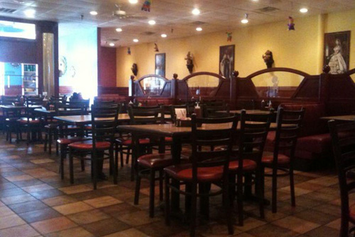 Inside Pancho's.