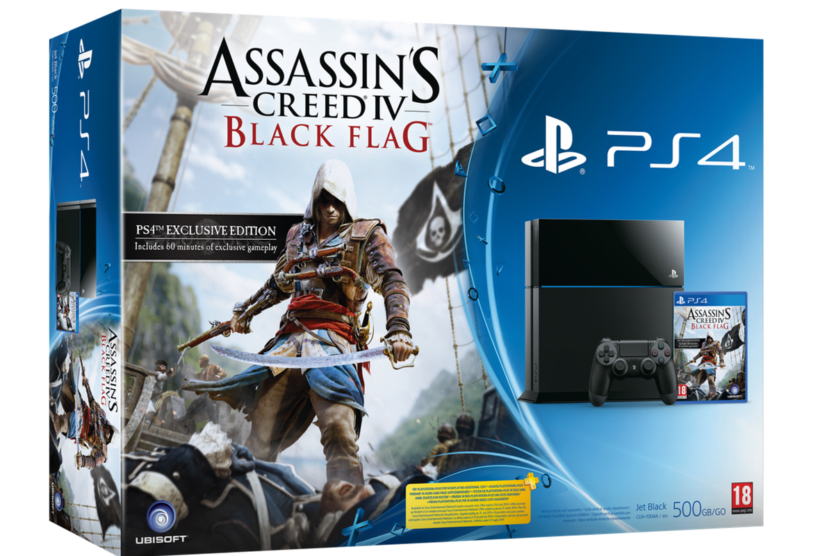 Playstation 4 Gets Assassin S Creed 4 Uk Bundle Polygon