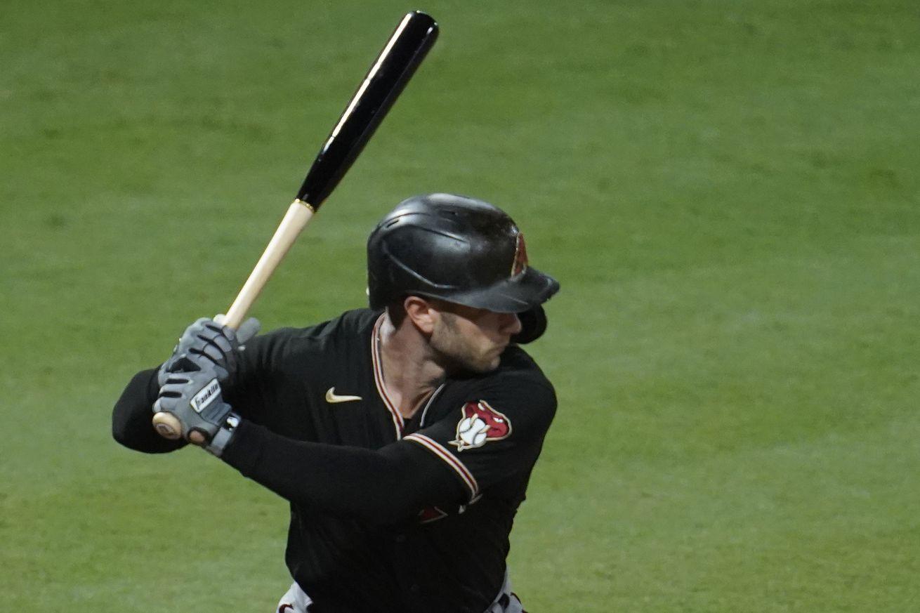 Christian Walker at bat