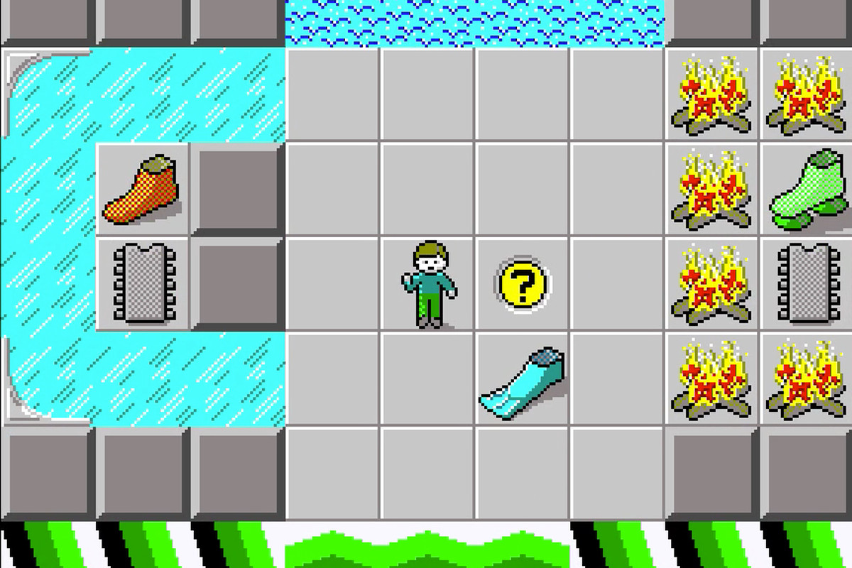 a screenshot from Chip's Challenge