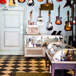 Customers have been known to stumble in, grab a guitar, and play a song or two.
