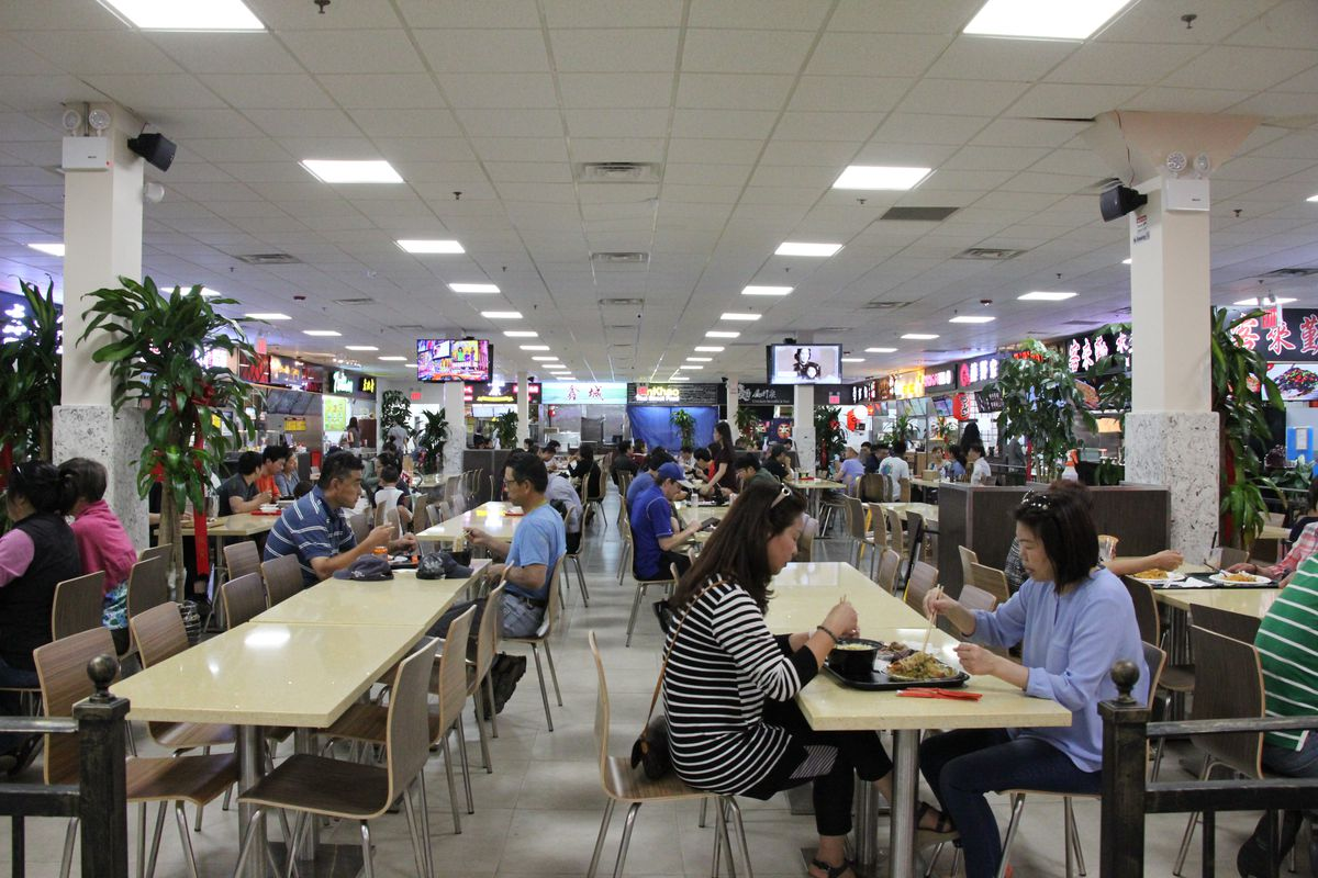 New New York Food Hall HK Food Court in Elmhurst Queens