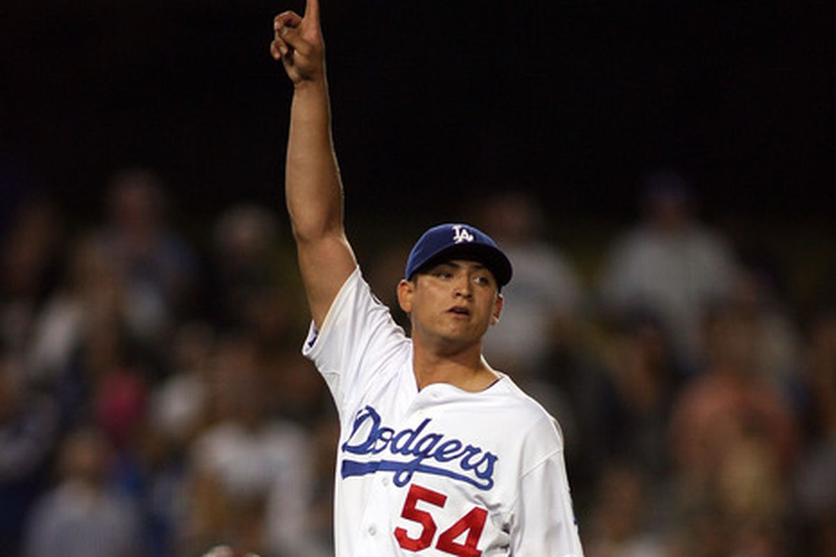 Javy Guerra allowed just 1 hit over 4 frames in his 2013 debut