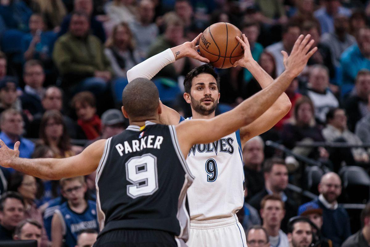 NBA: San Antonio Spurs at Minnesota Timberwolves