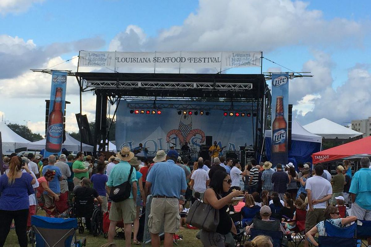 Louisiana Seafood Fest at City Park.