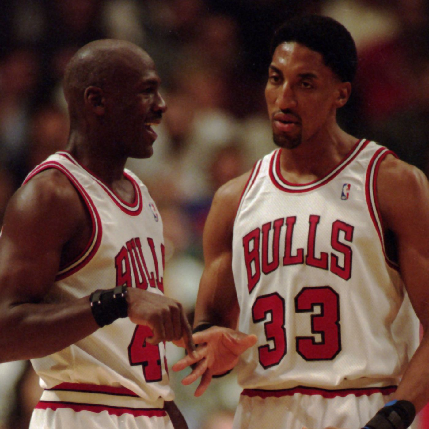 Scottie Pippen was the 2nd-best player of the '90s