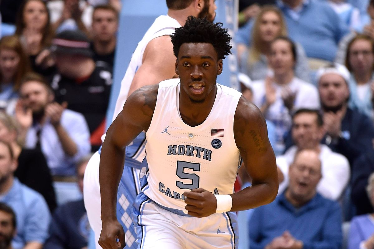 pretty nice b4e59 2ff41 UNC vs. Harvard - Player of the Game: Nassir Little - Tar ...