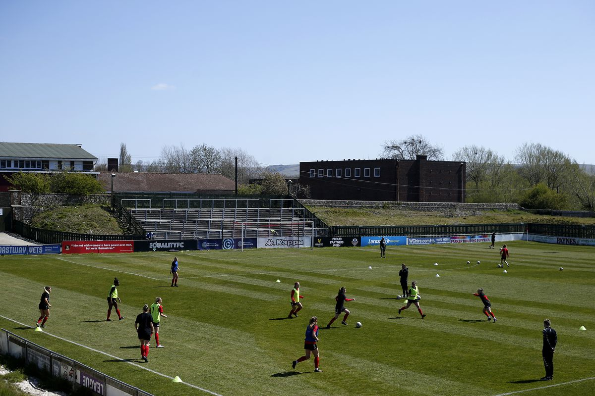 Lewes v Leicester City - FA Women's Championship