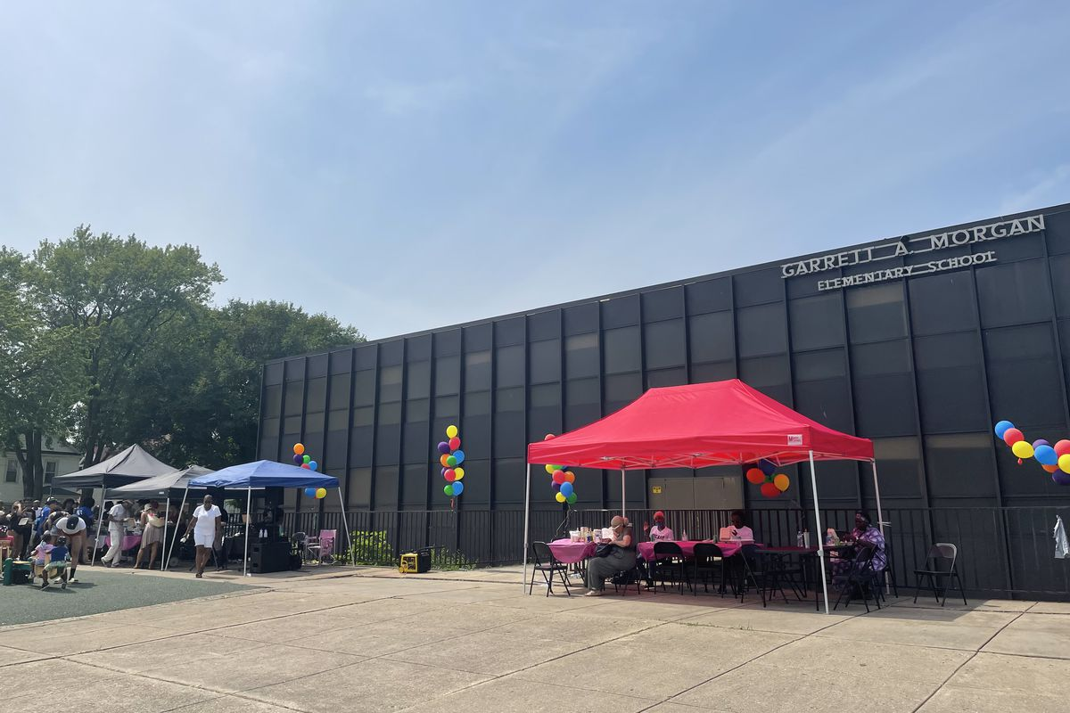 Activist Ja'Mal Green has been pushing to transform the closed Garrett Morgan Elementary School in Auburn-Gresham into an 80,000-square-foot state-of-the-art youth center, equipped with job training programs and a wellness center.
