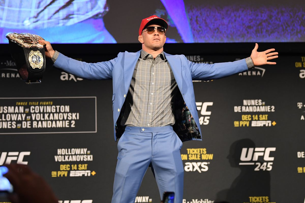 UFC 245 Usman v Covington: Press Conference