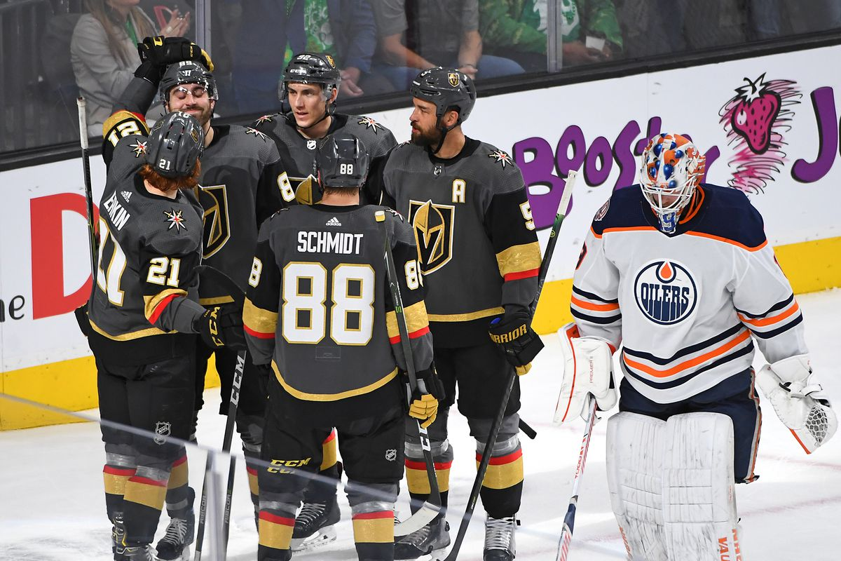 NHL: Edmonton Oilers at Vegas Golden Knights