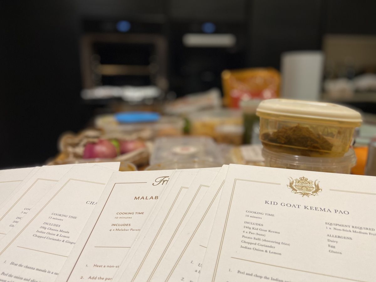 Ingredients and instructions from JKS' Ambassador General Store — including Michelin-starred Gymkhana, Michelin-starred Trishna, and Brigadiers from the Bloomberg Arcade in the City