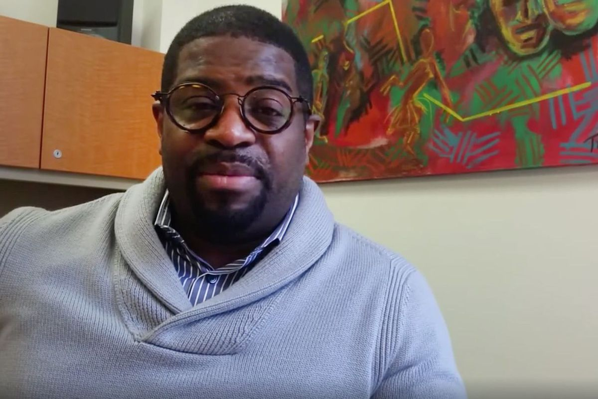 Goddard Riverside Executive Director Dr. Roderick Jones.