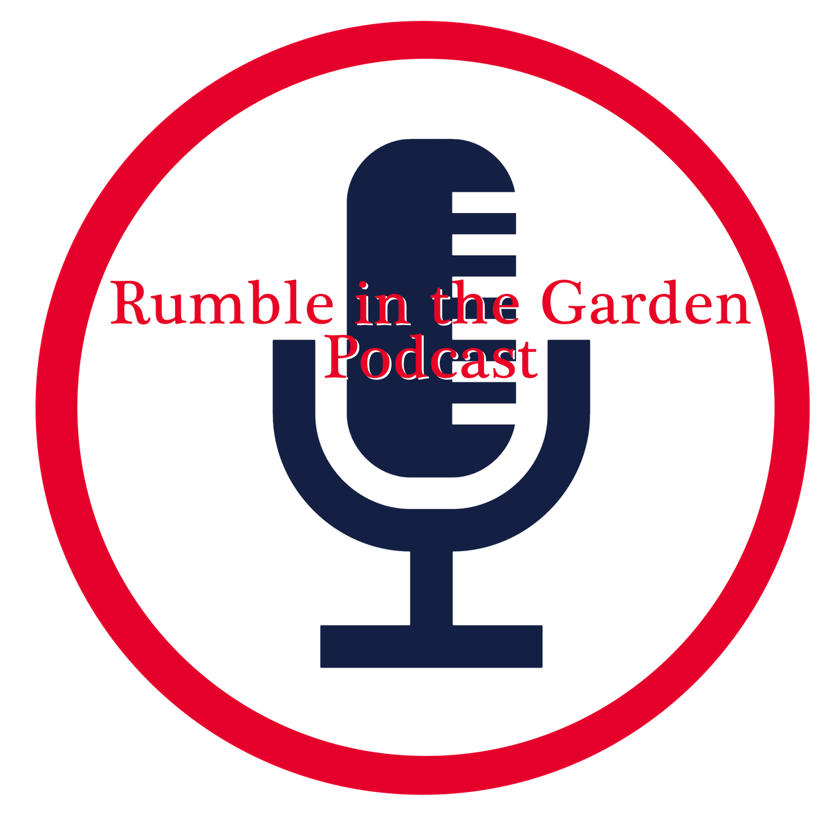 Rumble in the Garden podcast logo