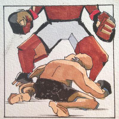 MMA Squared, Chris Rini, Francis Ngannou, Cain Velasquez