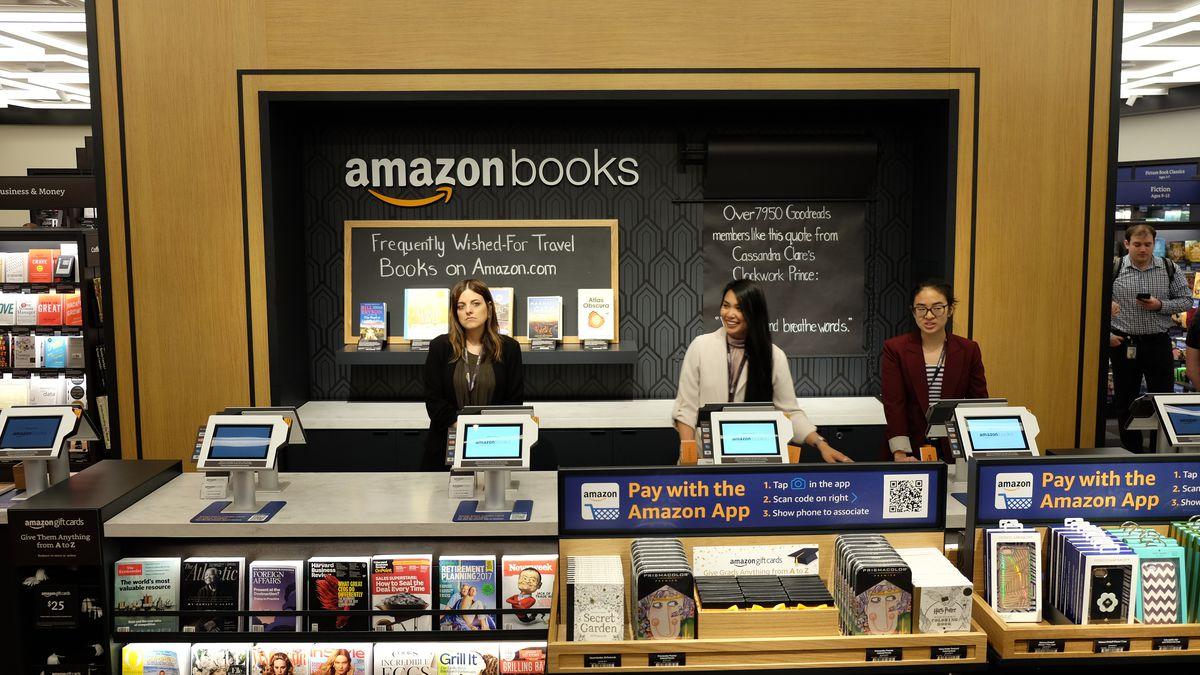 Amazon bookstore New York City