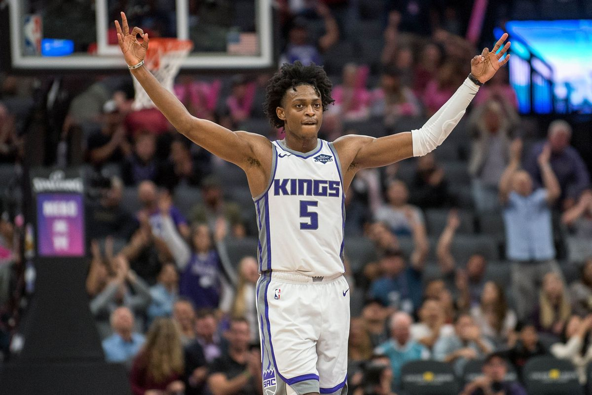Image result for de'aaron fox kings 2019