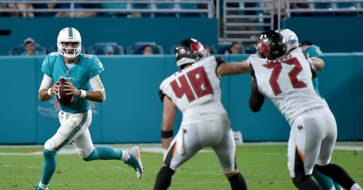 Three Things To Watch For During The Bucs/Dolphins Preseason Game