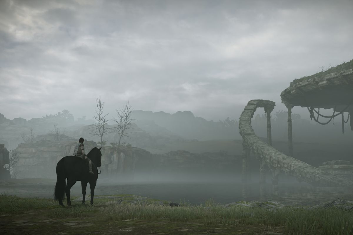Shadow Of The Colossus Remake Puts The Game S Artistic Vision In