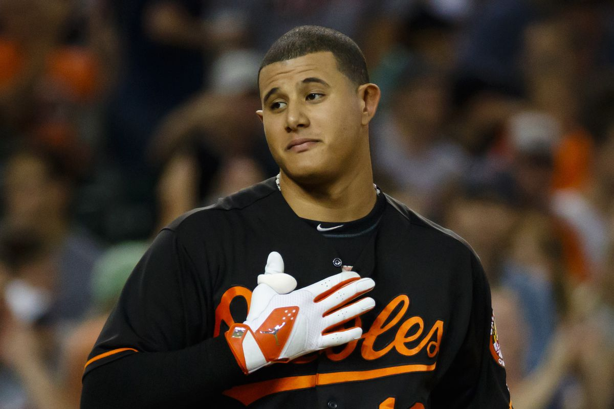 Manny Machado is really sorry he struck out in the 8th inning last night.