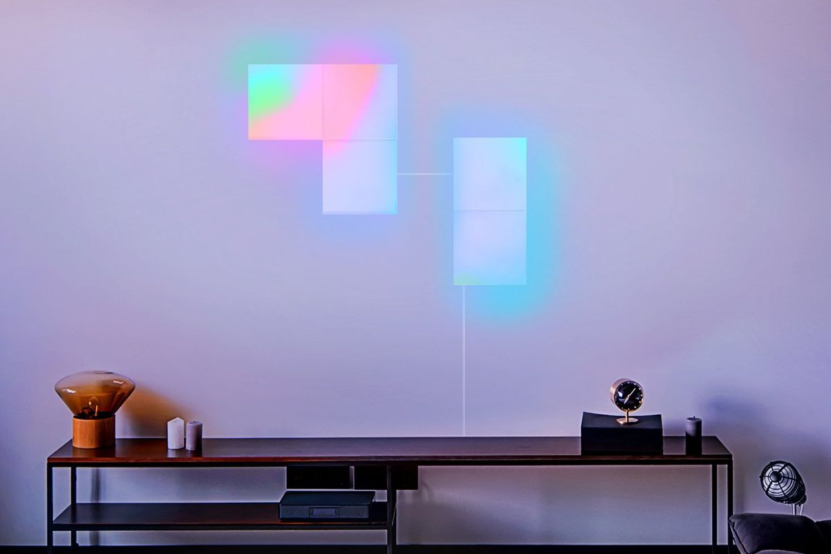 LIFX\'s new Wi-Fi-connected wall panels light up in different colors ...