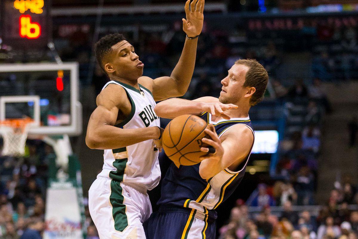 NBA: Utah Jazz at Milwaukee Bucks