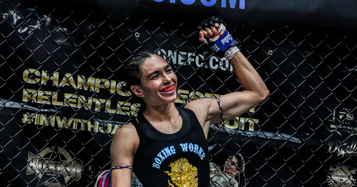Janet Todd overcame imposter syndrome en route to winning ONE Championship kickboxing crown