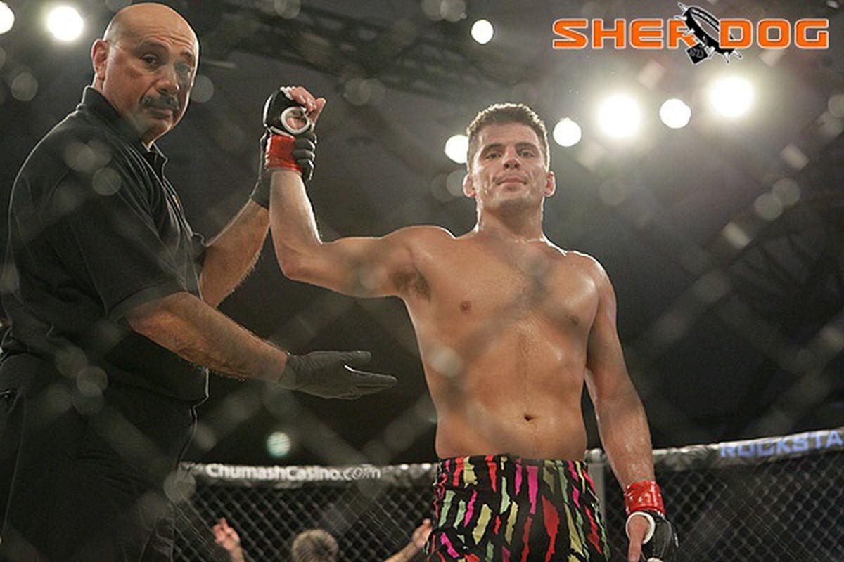 "Strikeforce Lightweight Lyle Beerbohm Photo via <a href=""http://www.sherdog.com/pictures/gallery/fighter/f_23854/58059/29"" target=""new"">Sherdog.com</a>"