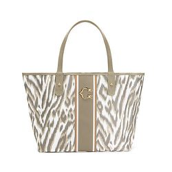 """<strong>C. Wonder</strong> Printed Stripe Signature Tote, <a href=""""http://www.cwonder.com/Categories/Bags/Totes/Printed-Stripe-Signature-Tote/product/CWSU14BG118-G.html"""">$78</a>"""
