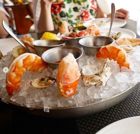 BLT Steak's seafood platter