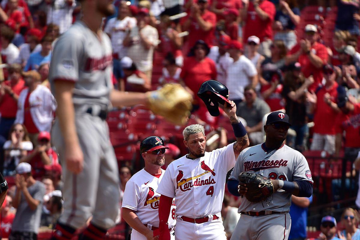 美国职业棒球大联盟:明尼苏达双城对圣路易斯红雀队