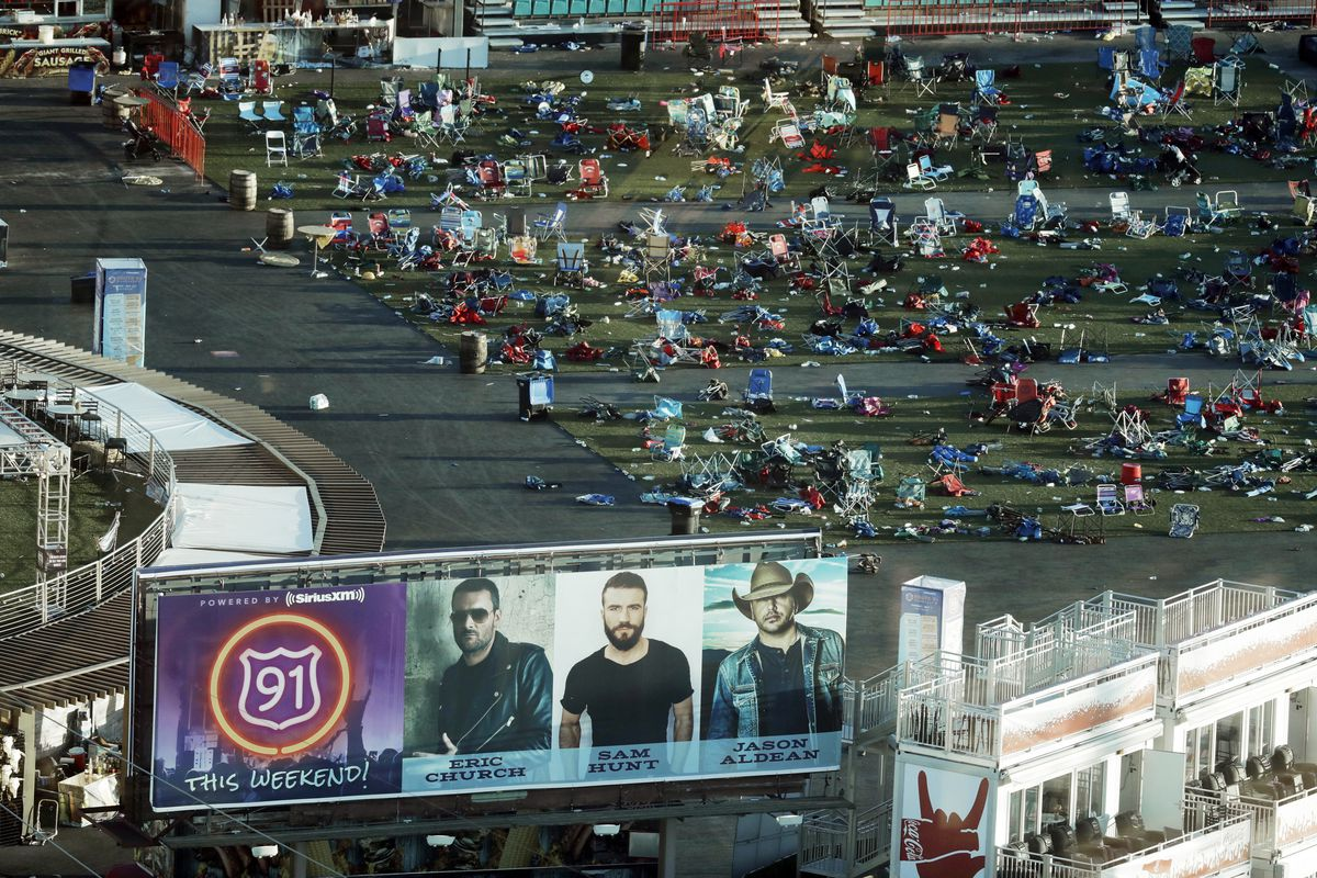 MGM to use Las Vegas shooting site as community center, parking for NFL stadium