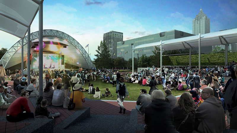 Centennial Olympic Park Renderings Shed Light On Renovation