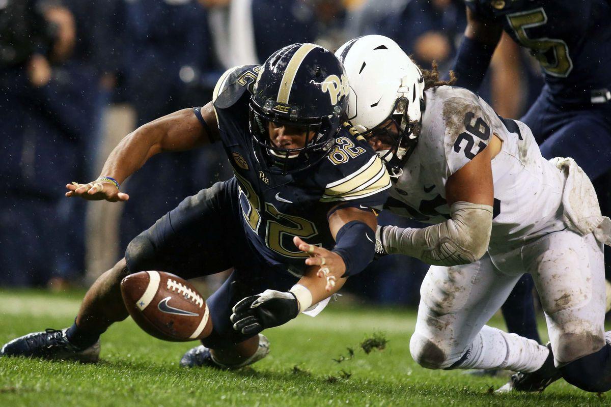 NCAA Football: Penn State at Pittsburgh